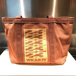 Vintage WKAR-TV East Lansing, MI Canvas Tote Bag